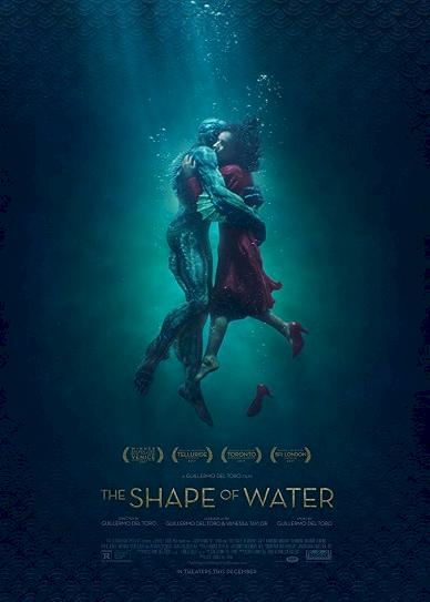 The Shape of Water (2017) cvr