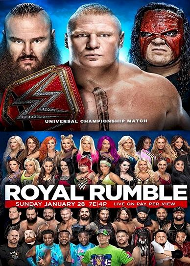 WWE Royal Rumble (2018) cvr