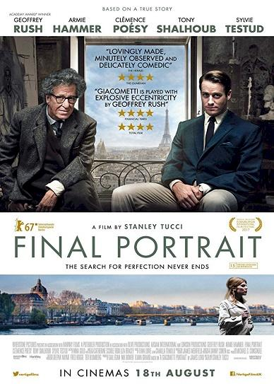 Final Portrait (2017) cover