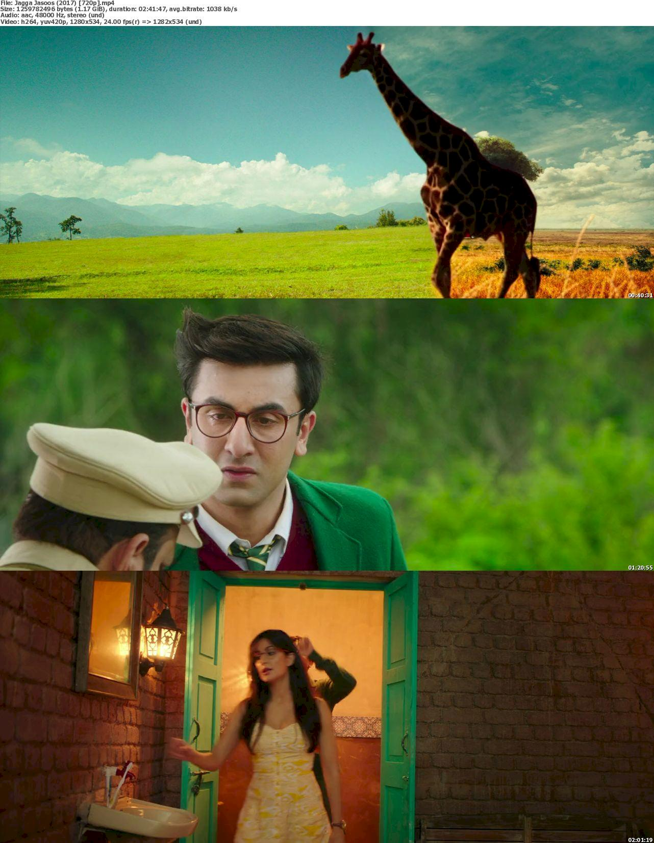 Jagga Jasoos (2017) 720p Bluray Free Download 720p Screenshot