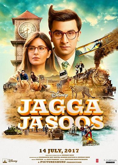 Jagga Jasoos (2017) cover