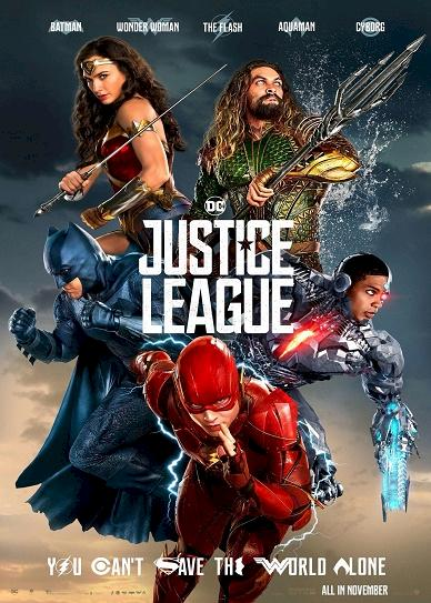 Justice League (2017) cover