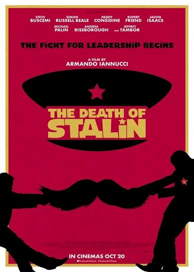 The Death of Stalin (2017) cover