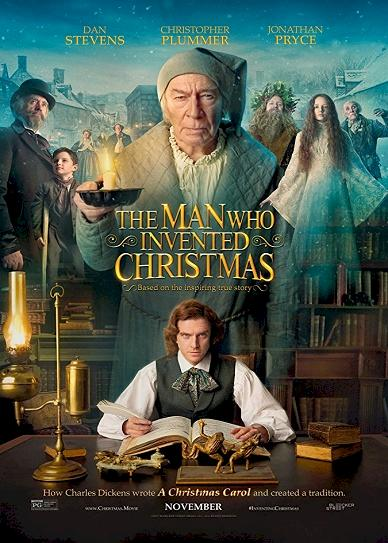 The Man Who Invented Christmas (2017) cover