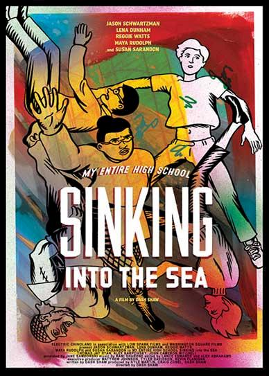 My Entire High School Sinking Into the Sea (2016) Cover Poster
