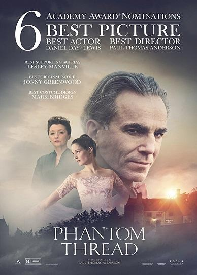 Phantom Thread (2017) cvr
