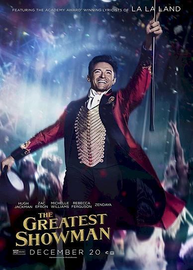 The Greatest Showman (2017) cover