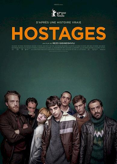 Hostages (2017) cover