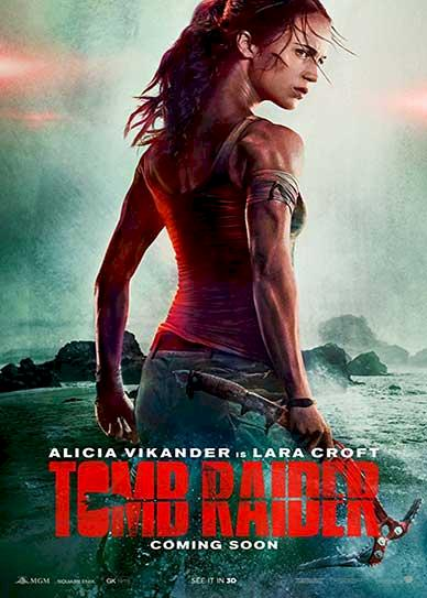 Tomb Raider (2018) Cover