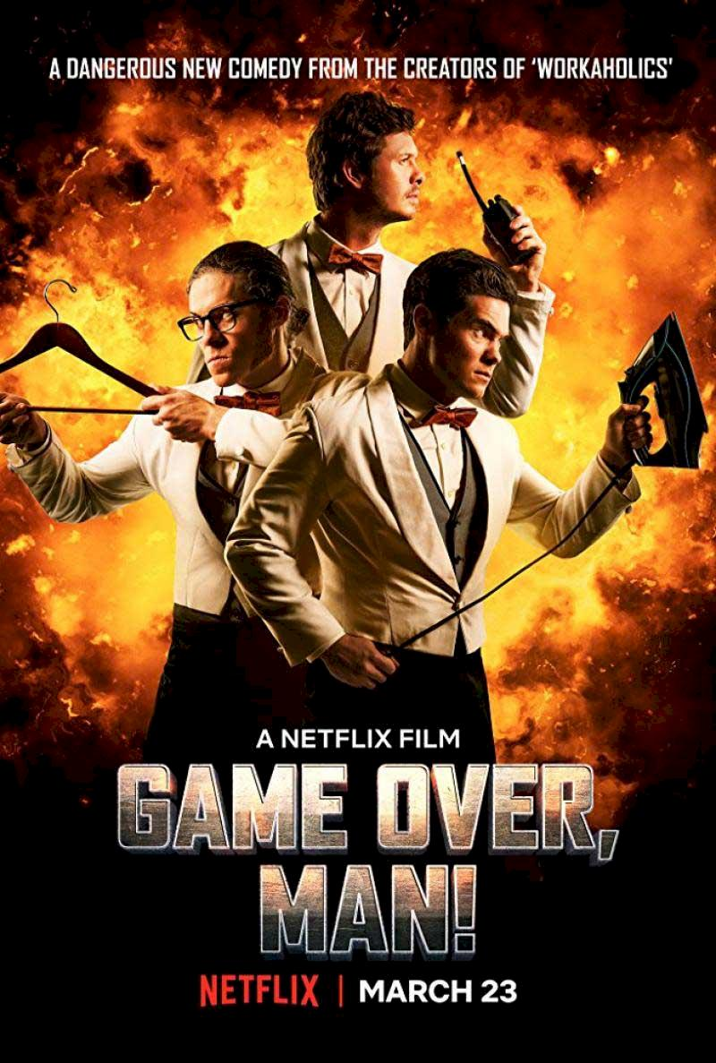 Game Over Man (2018) Cover