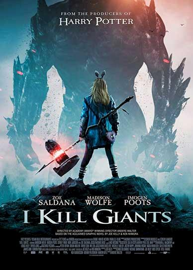 I Kill Giants (2018) Cover