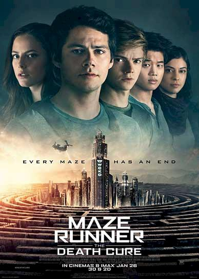 Maze Runner Death Cure (2018) Cover