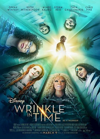 A Wrinkle in Time (2018) Cover