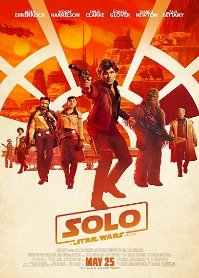 Solo A Star Wars Story (2018) Cover