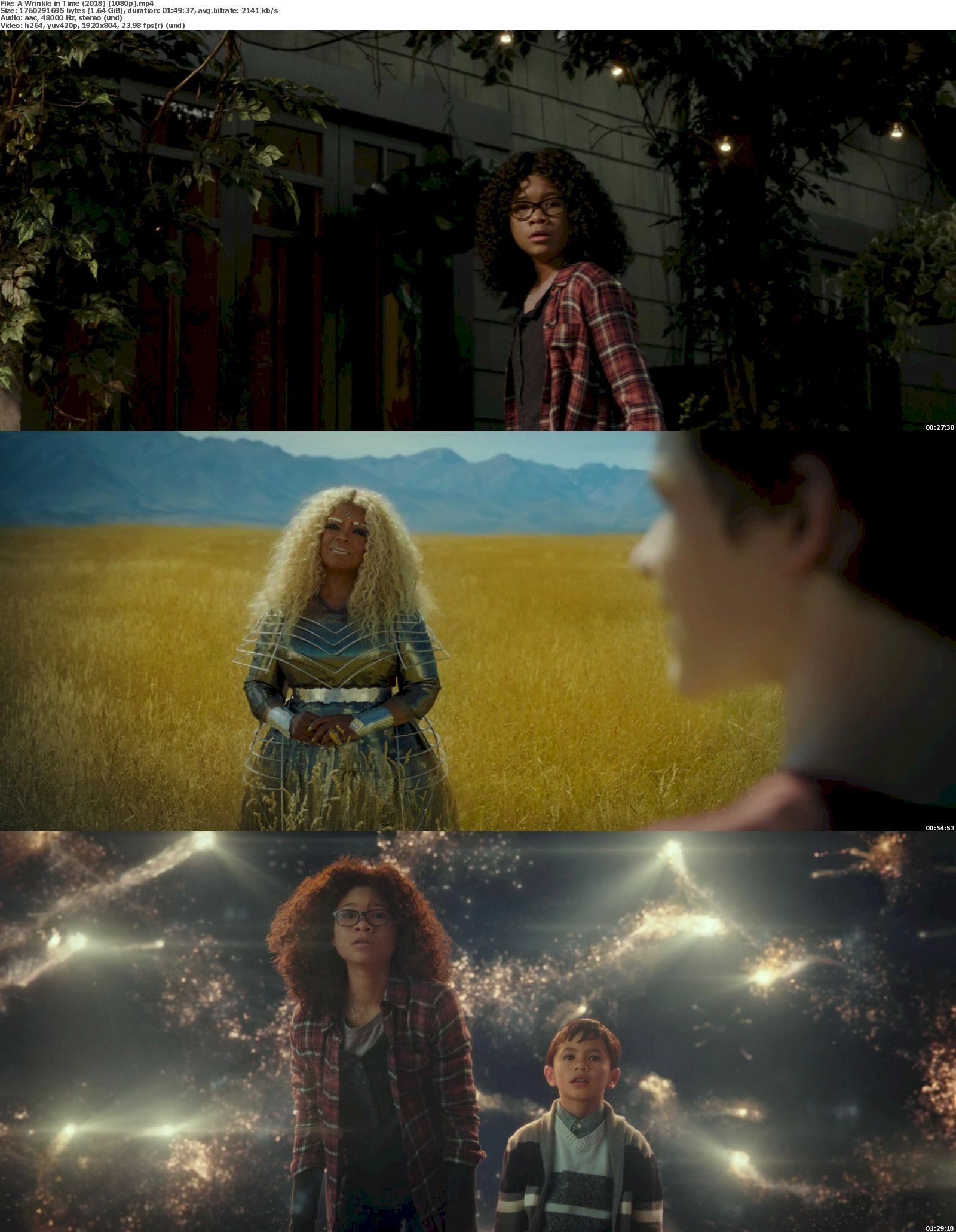 A Wrinkle in Time (2018) [720p & 1080p] Bluray Free Download 1080p Screenshot