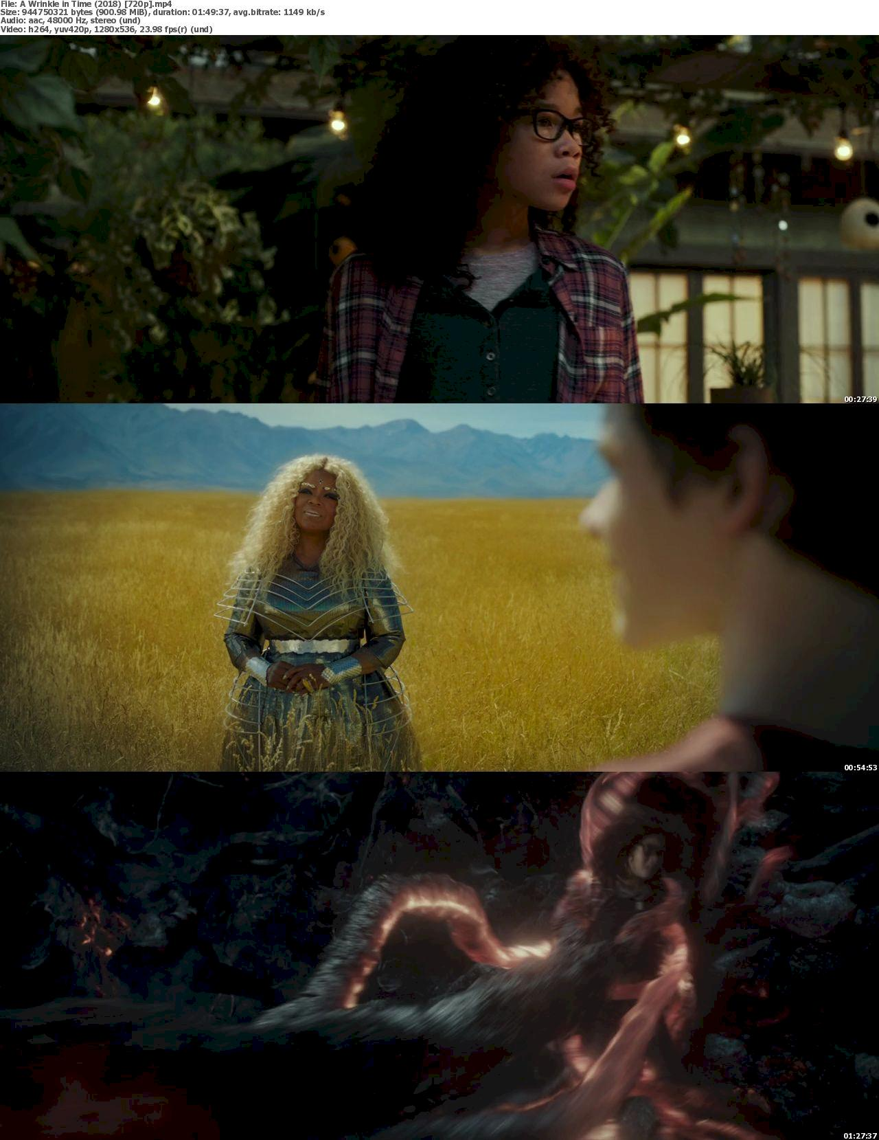 A Wrinkle in Time (2018) [720p & 1080p] Bluray Free Download 720p Screenshot