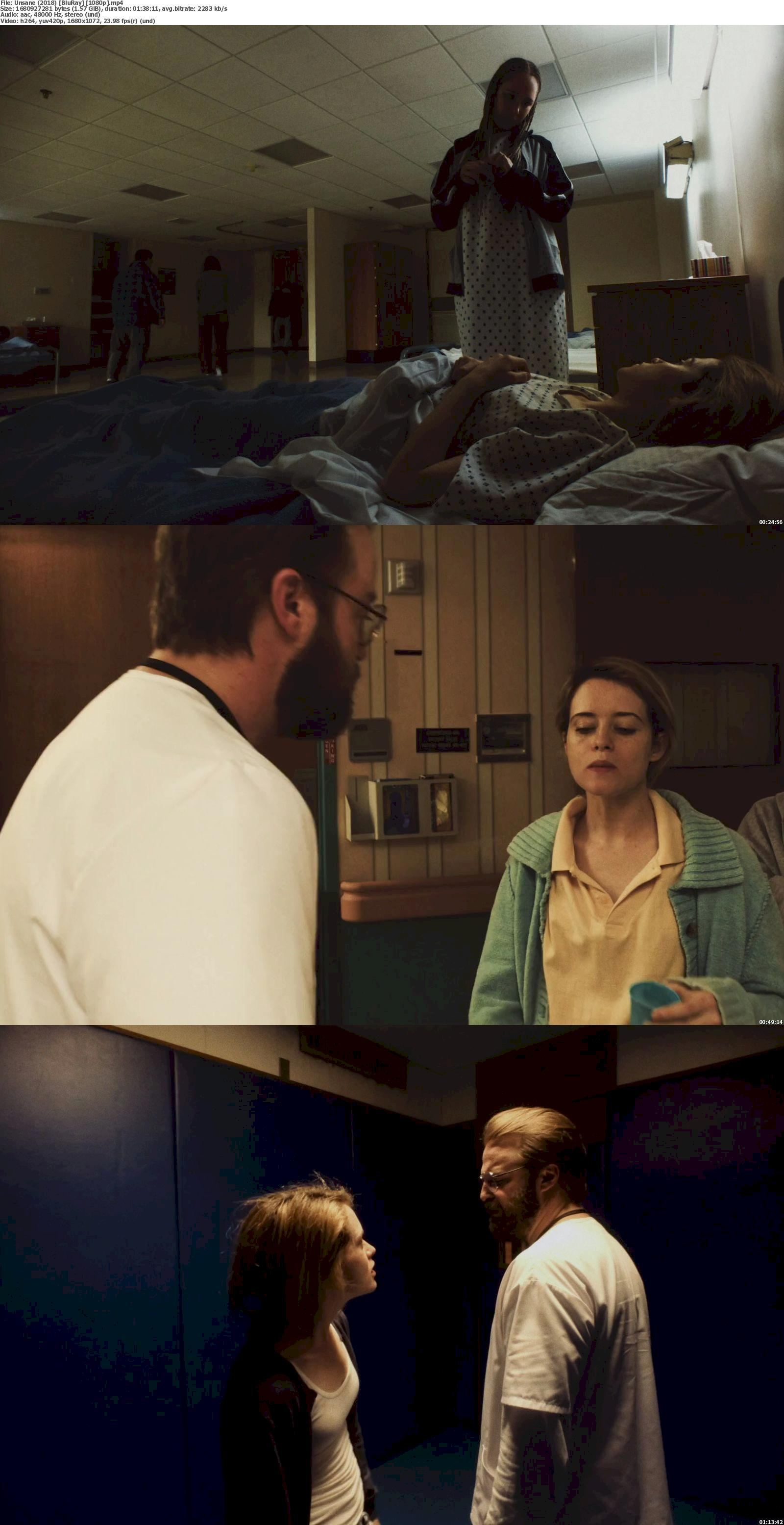 Unsane (2018) [720p & 1080p] Bluray Movie Watch Online & Download 1080p Screenshot