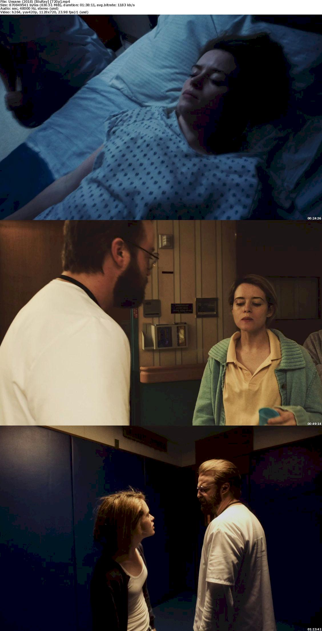 Unsane (2018) [720p & 1080p] Bluray Movie Watch Online & Download 720p Screenshot