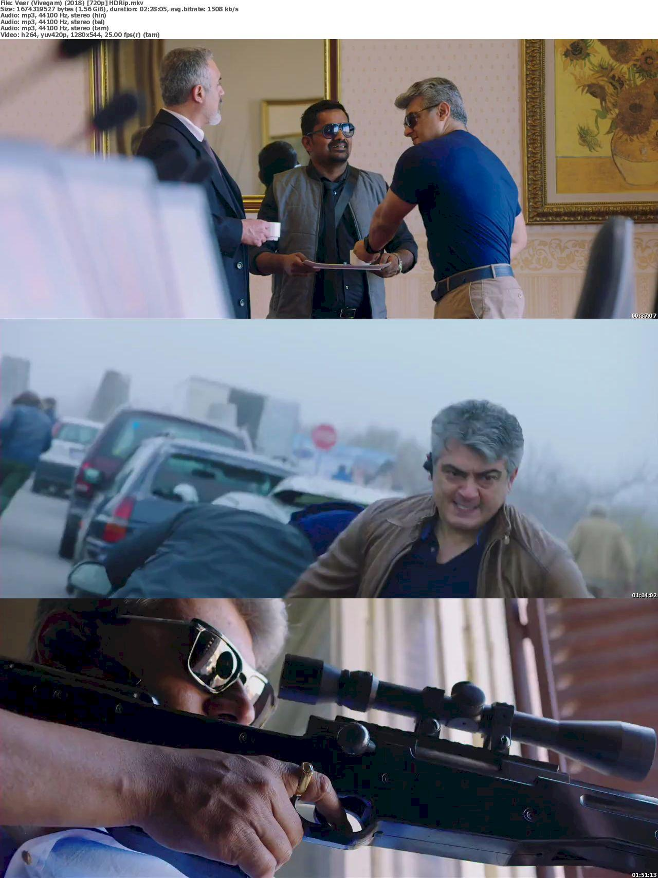 Vivegam (2017) [720p] HD Full Movie Watch Online & Download 720p Screenshot
