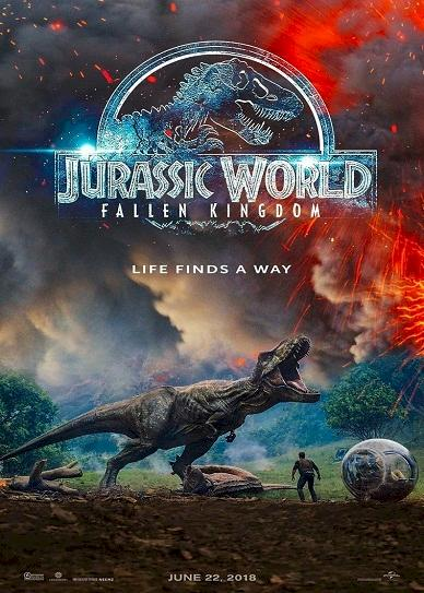 Jurassic World Fallen Kingdom (2018) Cover