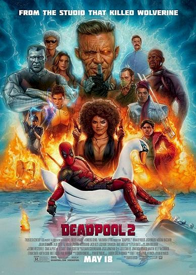 Deadpool 2 (2018) Cover
