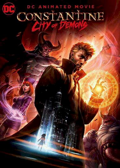 Constantine City of Demons (2018) Cover