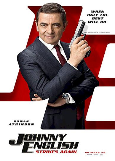 Johnny English Strikes Again (2018) Cover