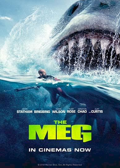 The Meg (2018) Cover