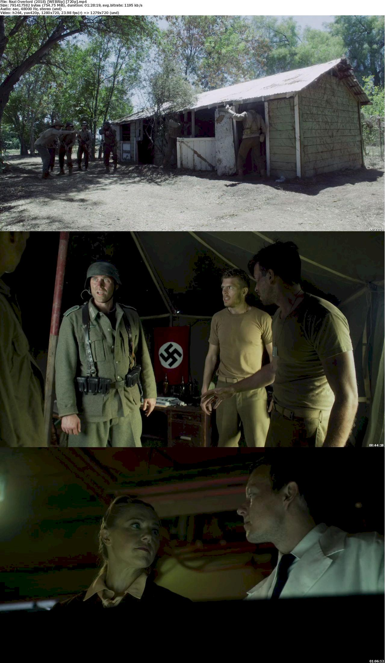 Nazi Overlord (2018) [720p] WEB-Rip Free Movies Watch Online  & Download 720p Screenshot
