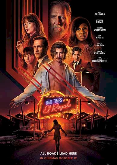 Bad Times at the El Royale (2018) Cover