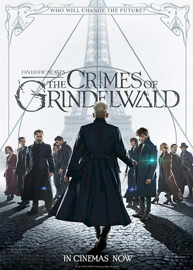 Fantastic Beasts The Crimes of Grindelwald (2018) Cover
