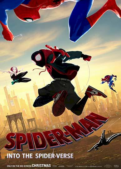 Spider Man Into The Spider Verse (2018) Cover