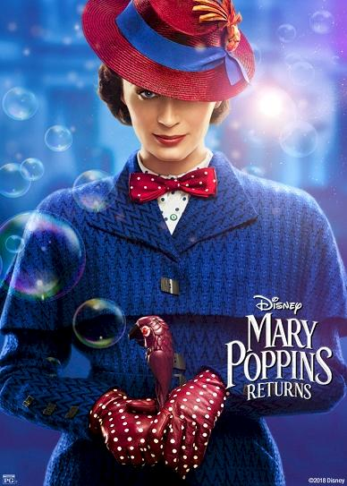 Mary Poppins Returns (2018) Cover