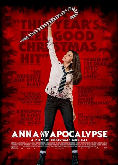 Anna And The Apocalypse (2017) Cover