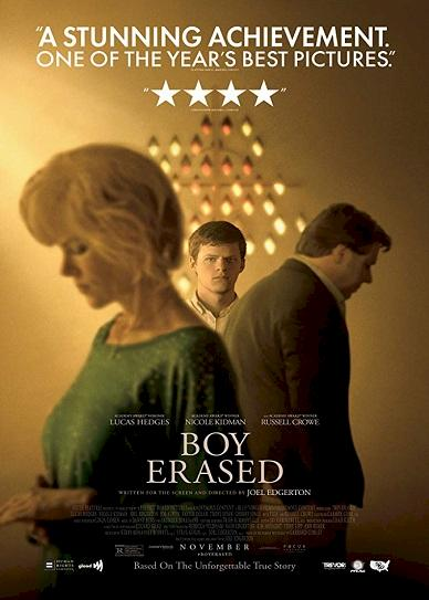 Boy Erased (2018) Cover