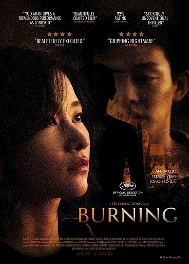 Burning (2018) Cover