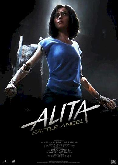 Alita: Battle Angel (2019) Cover