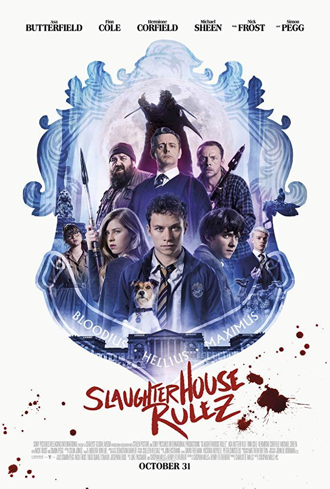 Slaughterhouse Rulez Cover