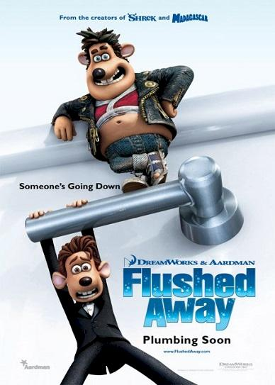 Flushed Away Cover
