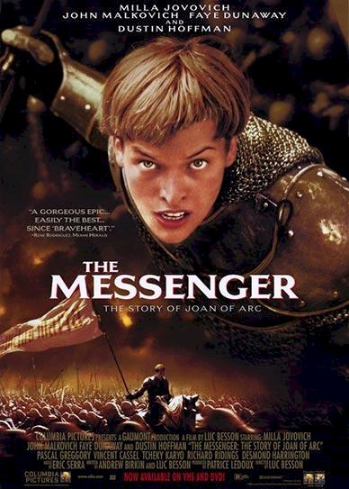 The Messenger: The Story of Joan of Arc Cover