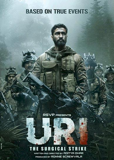 Uri: The Surgical Strike Cover
