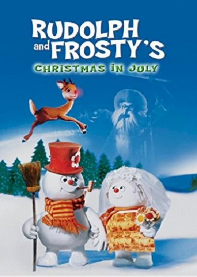 Rudolph and Frosty's Christmas in July Cover