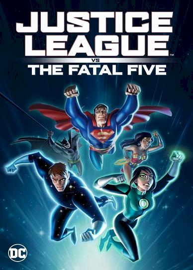 Justice League vs the Fatal Five Cover