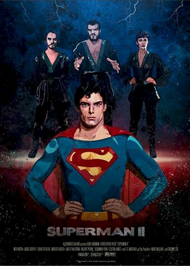 Superman II Cover