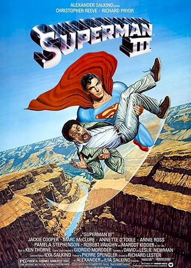 Superman III Cover