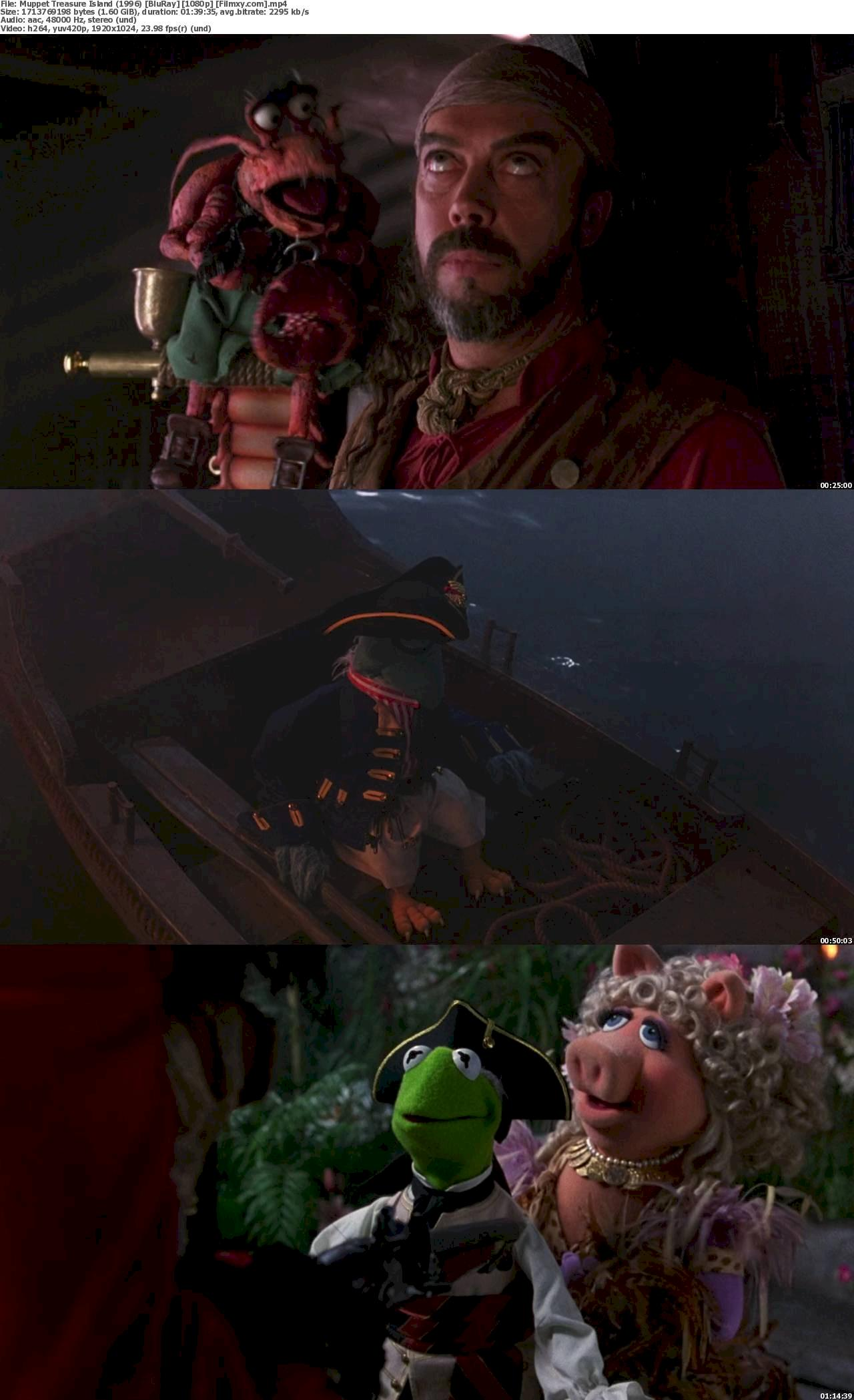 Muppet Treasure Island (1996) [720p & 1080p] Bluray Free Movie Watch Online & Download 1080p Screenshot
