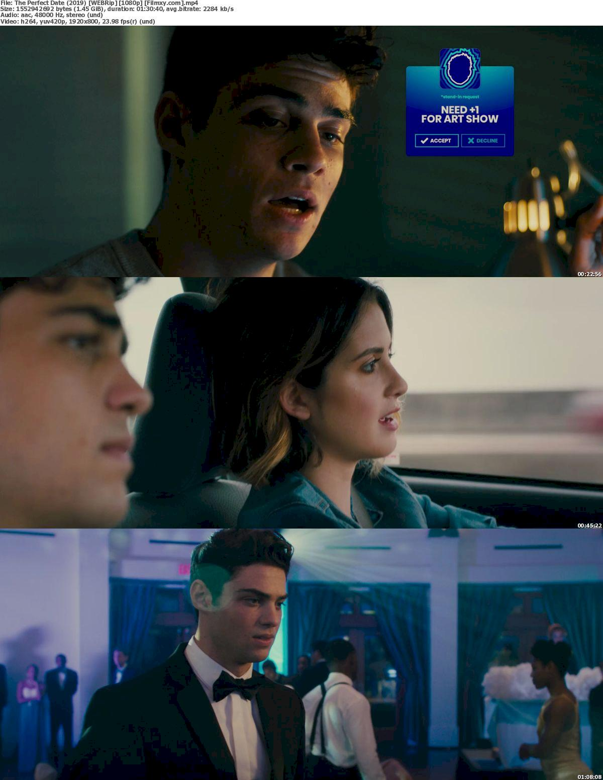 The Perfect Date (2019) [720p & 1080p] WEB-Rip Free Movie Watch Online & Download 1080p Screenshot