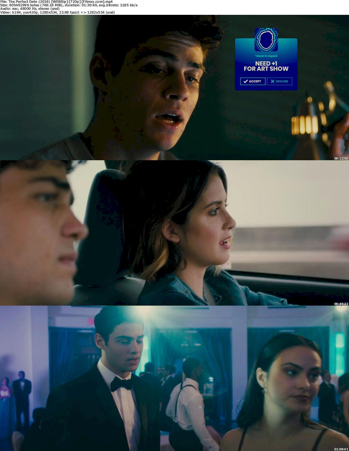 The Perfect Date (2019) [720p & 1080p] WEB-Rip Free Movie Watch Online & Download 720p Screenshot