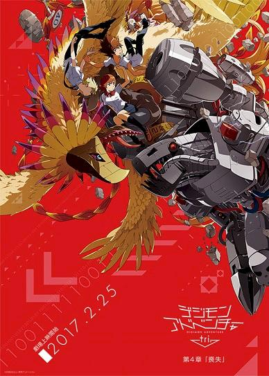 Digimon Adventure Tri. 4: Loss Cover