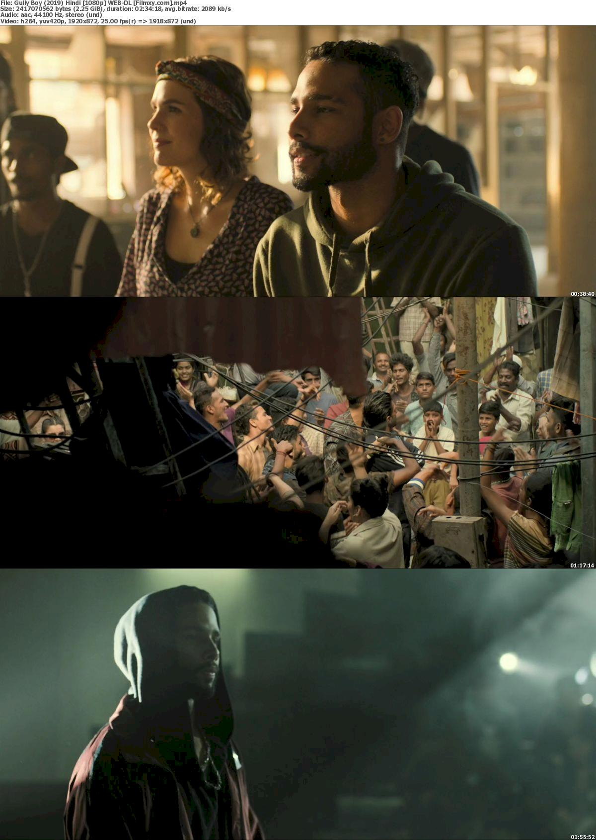 Gully Boy (2019) Hindi [720p & 1080p] WEB-DL Free Movie Watch Online & Download 1080p Screenshot